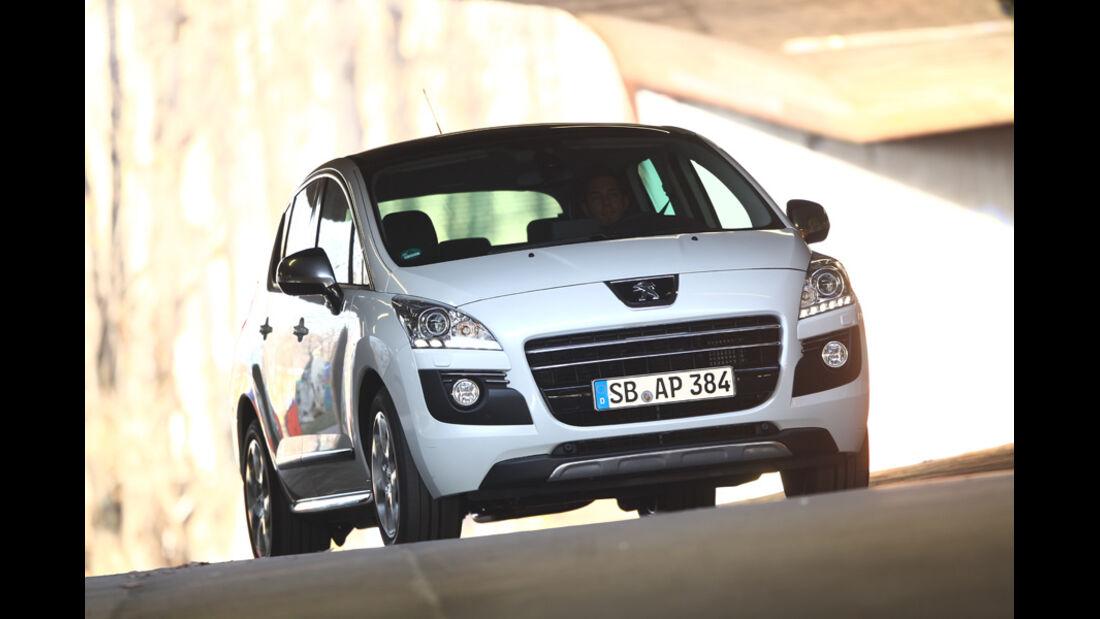 Peugeot 3008 Hybrid, Frontansicht