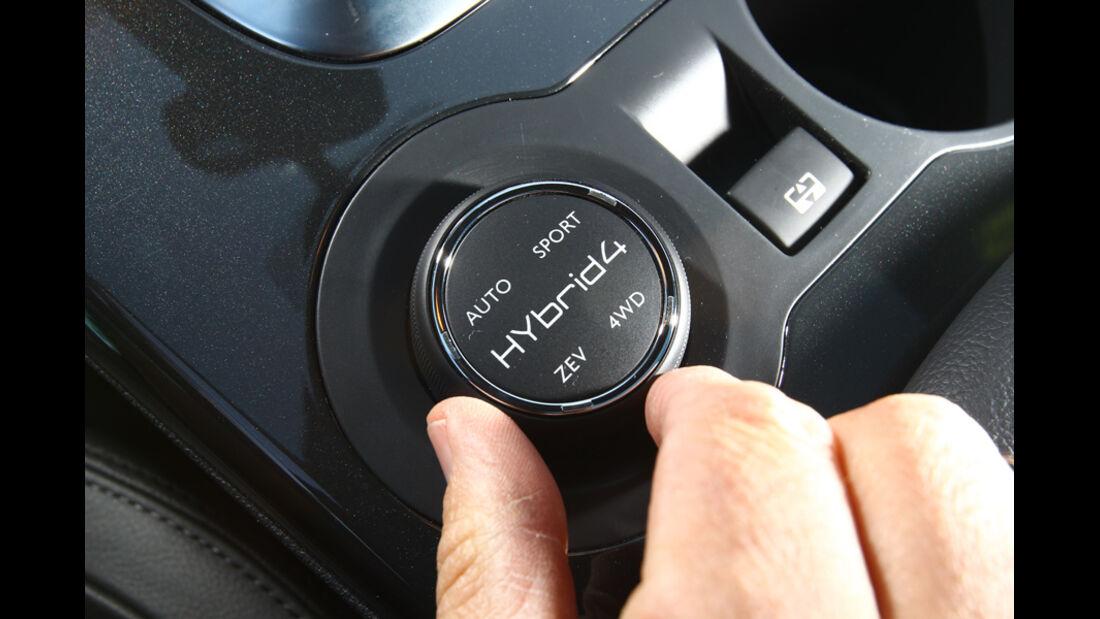 Peugeot 3008 Hybrid, Multifunktionsrad