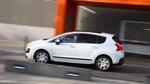 Peugeot 3008 Hybrid, Seitenansicht