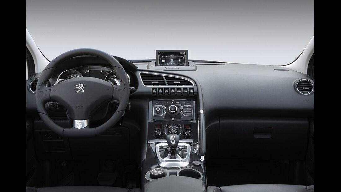 Peugeot 3008 Hybrid4 Innenraum