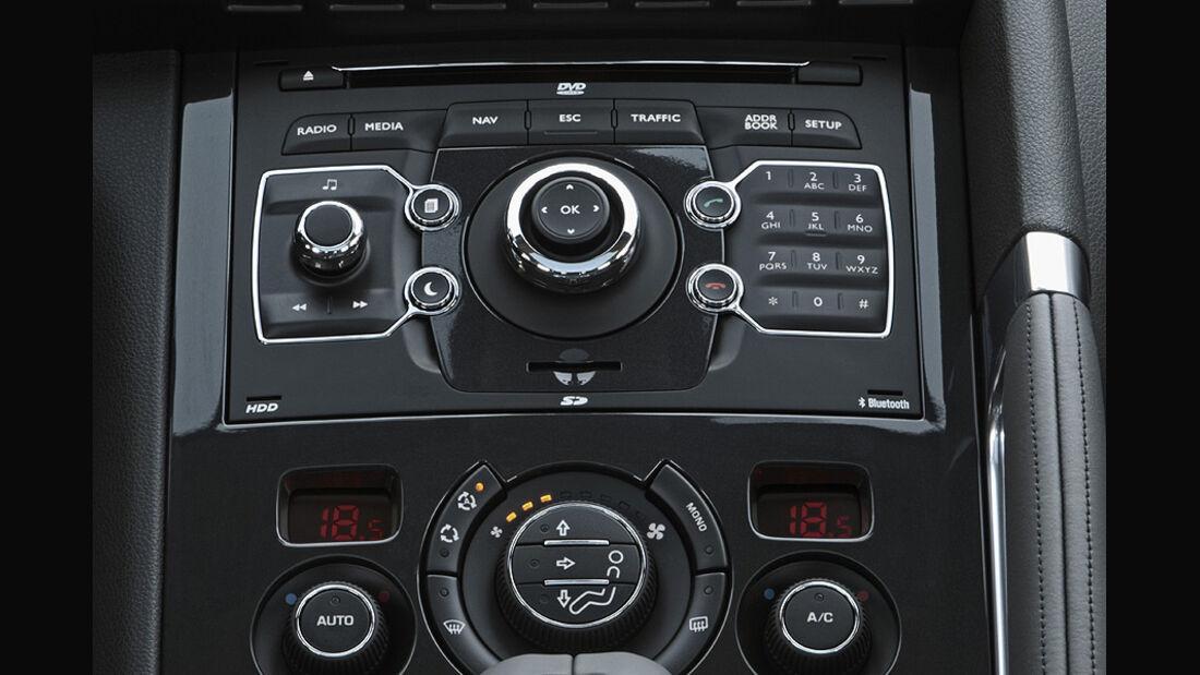 Peugeot 3008 Hybrid4 Mittelkonsole