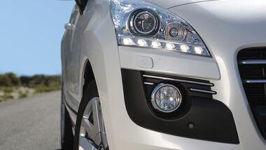 Peugeot 3008 Hybrid4 Scheinwerfer