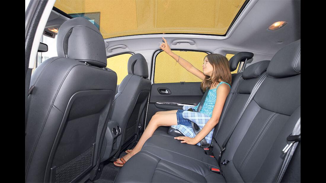 Peugeot 3008, Innenraum