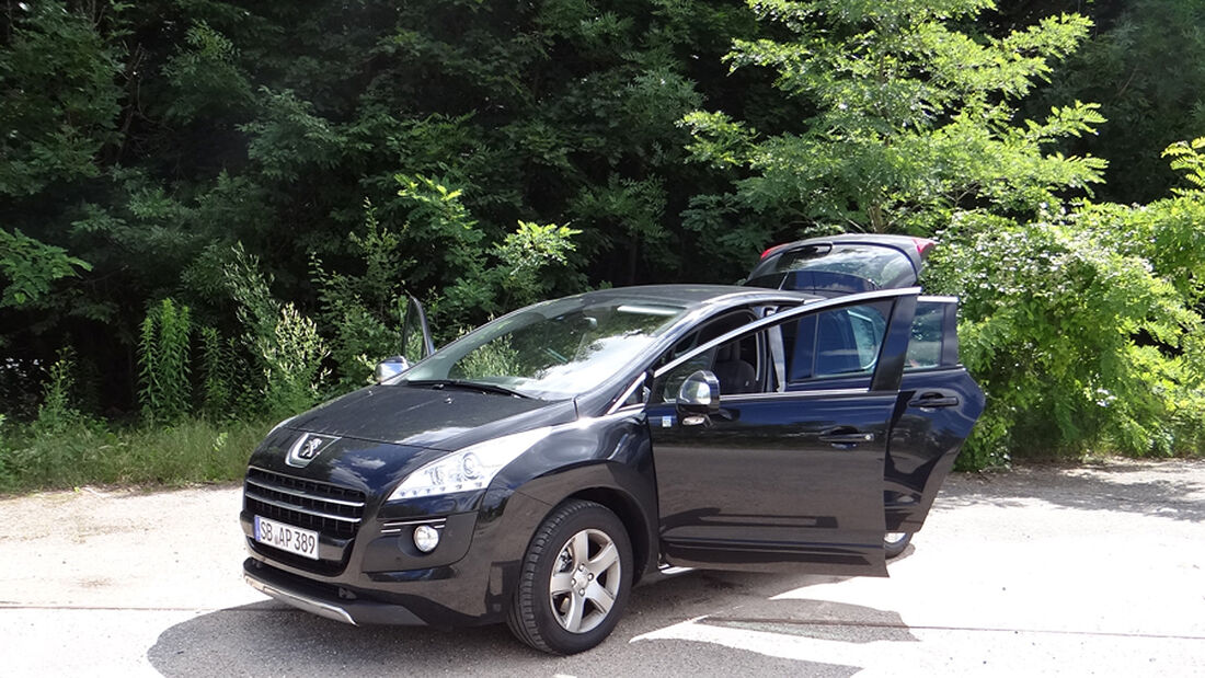 Peugeot 3008, Innenraum-Check, Front