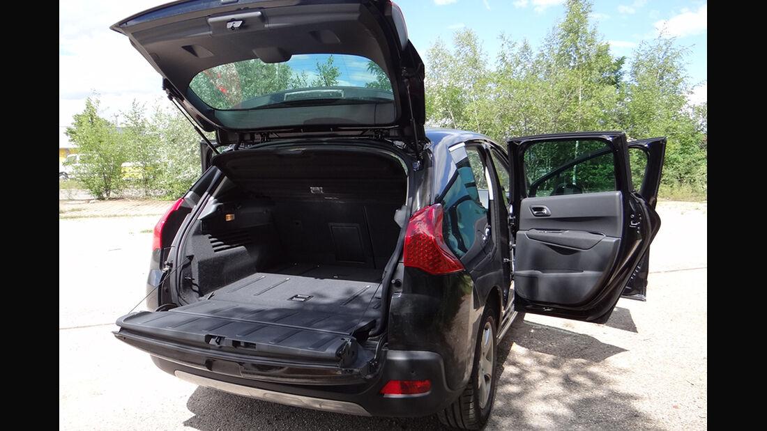 Peugeot 3008, Innenraum-Check, Heck