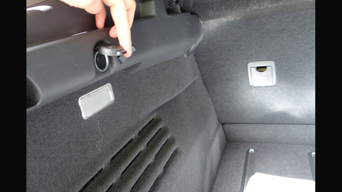 Peugeot 3008, Innenraum-Check, Kofferraum