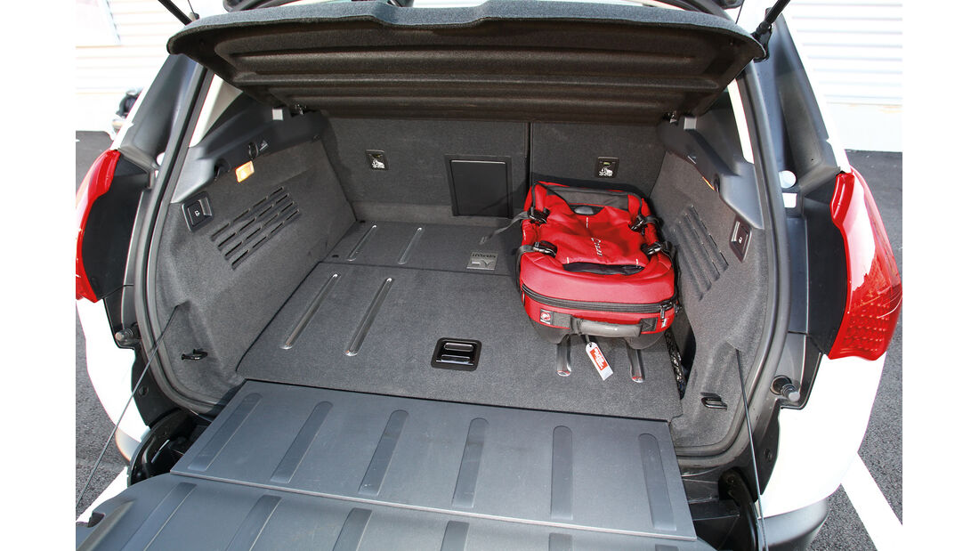 Peugeot 3008, Kofferraum