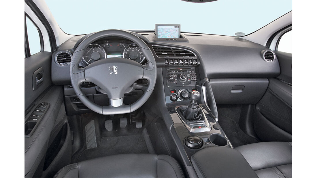 Peugeot 3008, Lenkrad, Cockpit