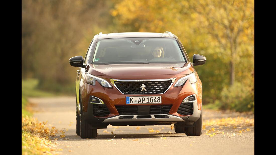 Peugeot 3008 Puretech 130, Frontansicht