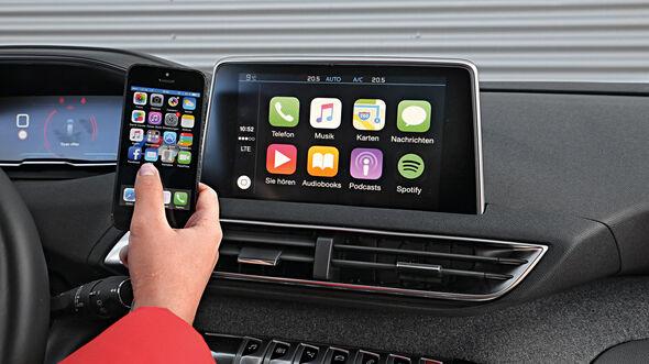 Peugeot 3008 Puretech 130, Infotainment