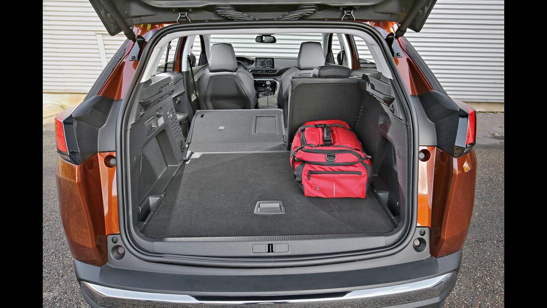 Peugeot 3008 Puretech 130, Kofferraum