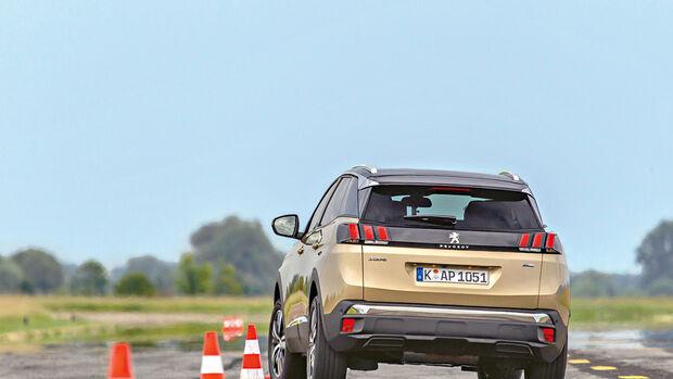 Peugeot 3008 SUV Vergleich AMS1417