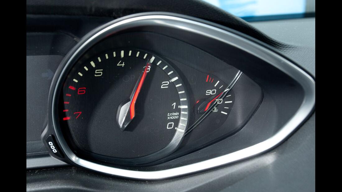 Peugeot 308 125 THP, Bedienelemente