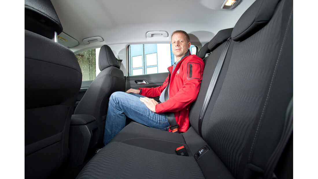 Peugeot 308 125 THP, Fahrersitz