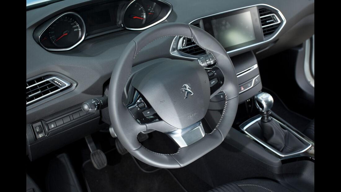 Peugeot 308 125 THP, Lenkrad