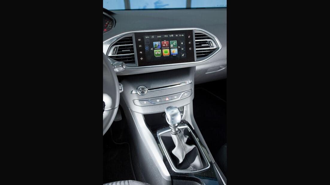 Peugeot 308 125 THP, Monitor