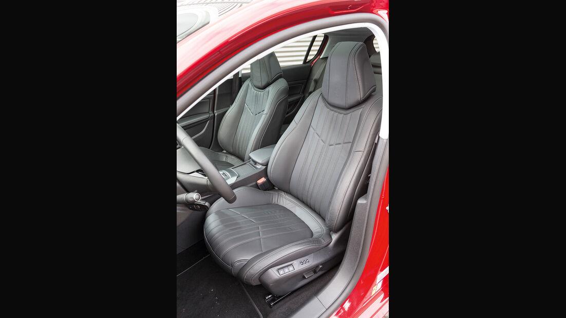 Peugeot 308 125 THP, Sitze