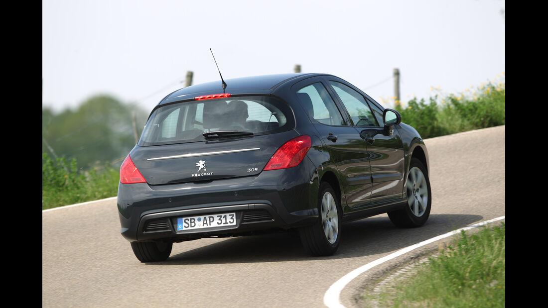 Peugeot 308 98 VTi Access, Heck