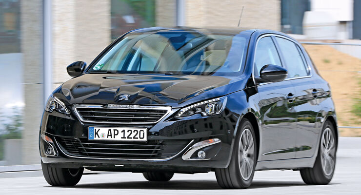 Peugeot 308 Blue HDi 120, Frontansicht