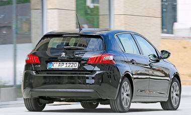 Peugeot 308 Blue HDi 120, Heckansicht