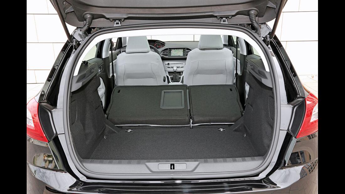Peugeot 308 Blue HDi 120, Kofferraum