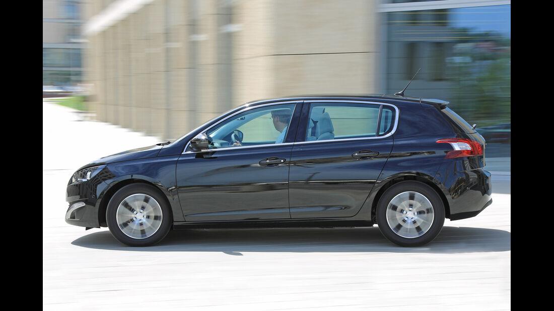 Peugeot 308 Blue HDi 120, Seitenansicht