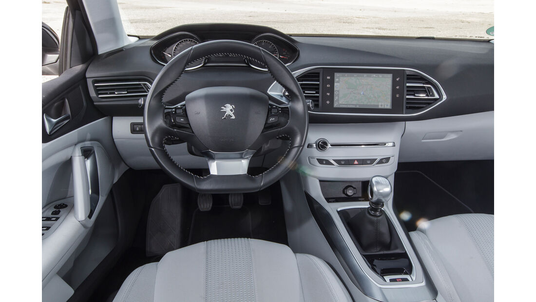 Peugeot 308 Blue HDi, Cockpit