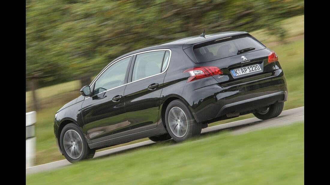 Peugeot 308 Blue HDi, Heckansicht