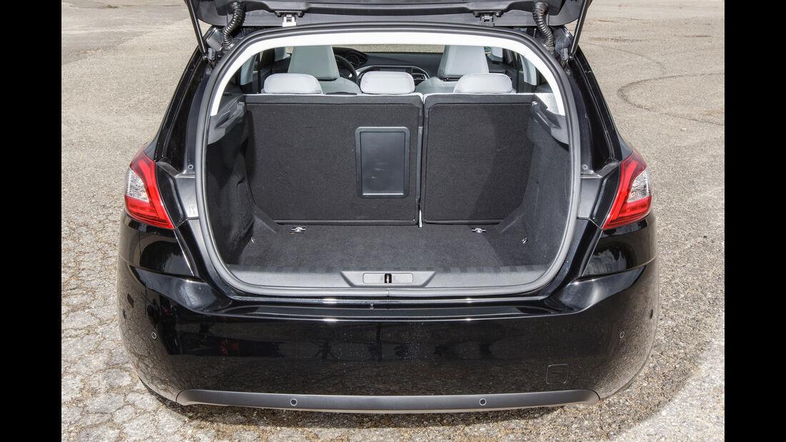 Peugeot 308 Blue HDi, Kofferraum