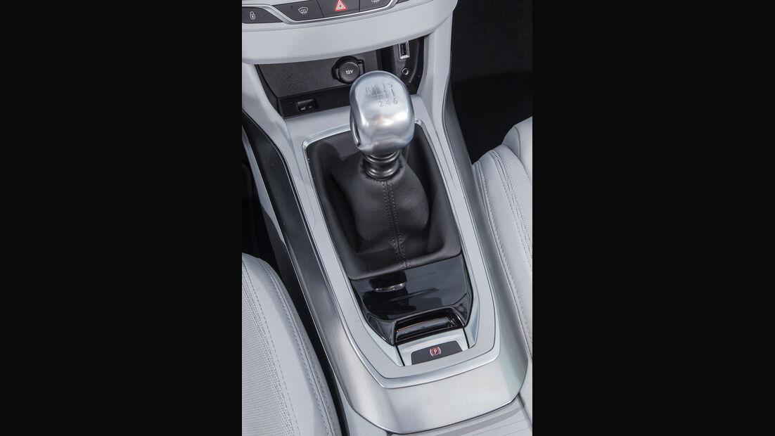 Peugeot 308 Blue HDi, Schalthebel