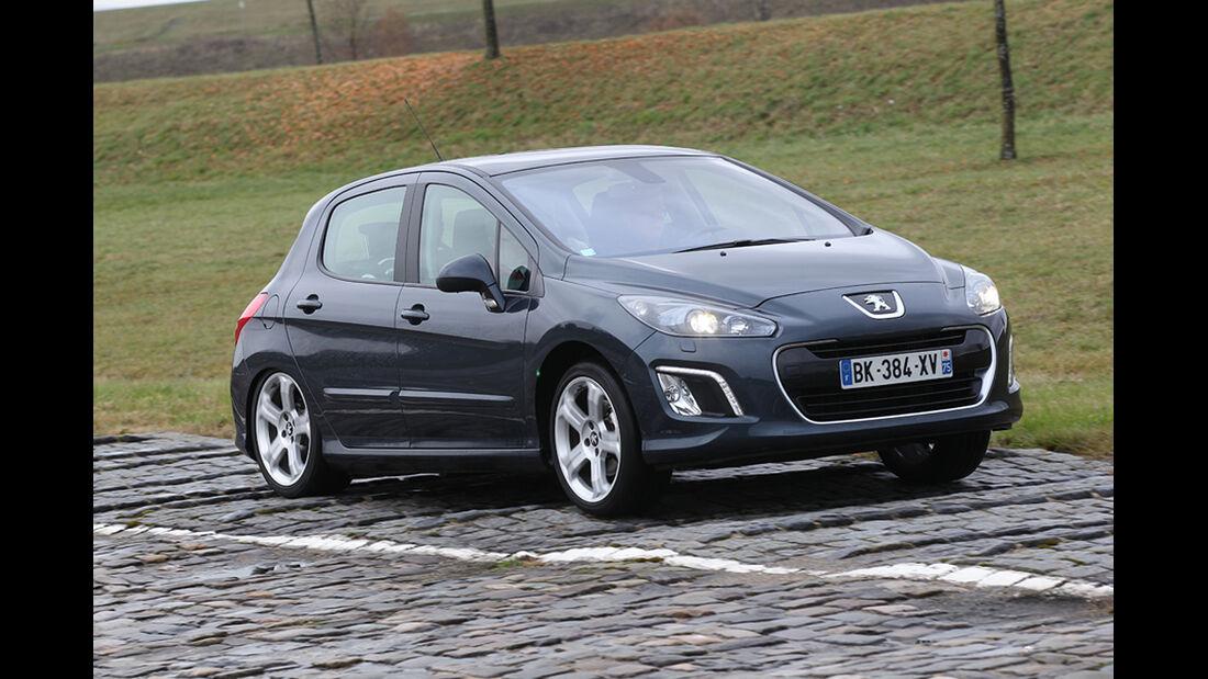 Peugeot 308, Bodenwellen, Fahrwerk