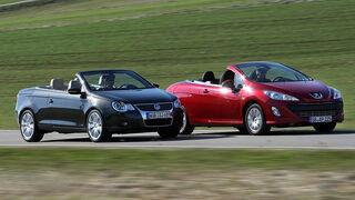 Peugeot 308 CC 120 VTI vs VW Eos 1.4 TSI