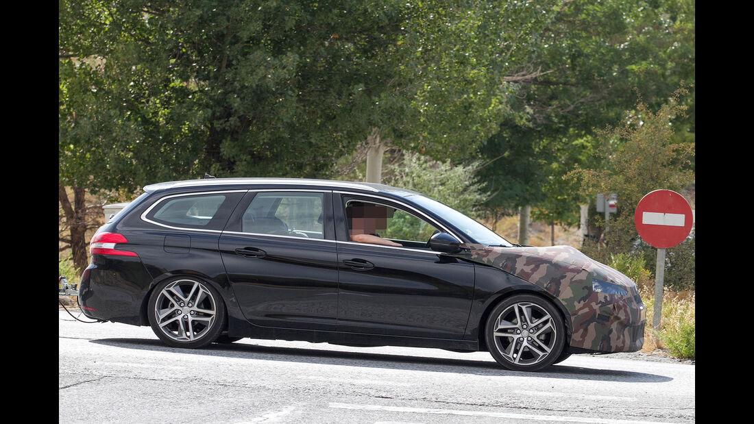Peugeot 308 Erlkönig