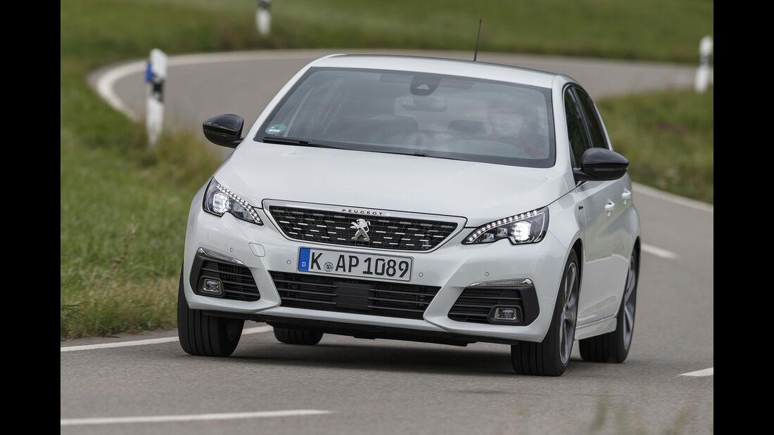 Peugeot 308, Exterieur Front
