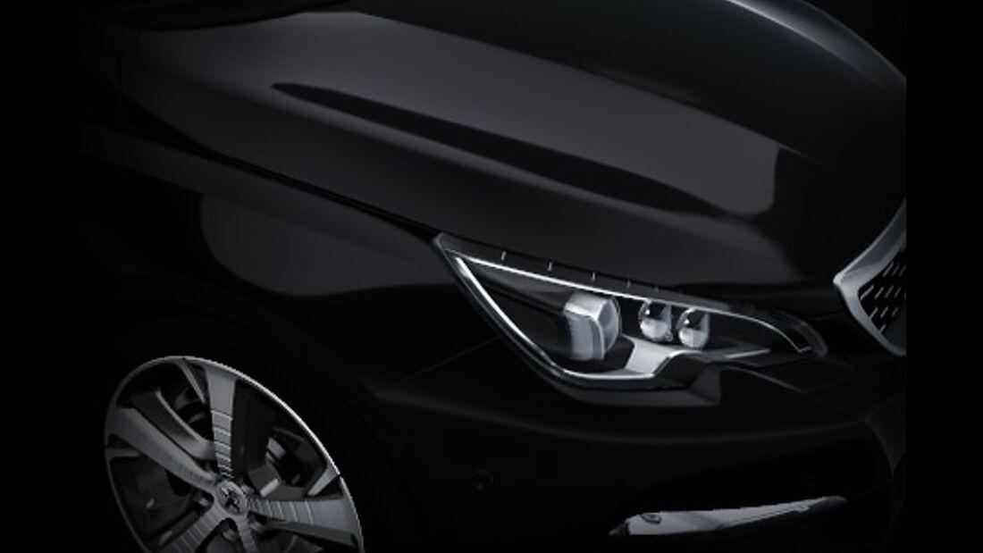 Peugeot 308 Facelift leaked