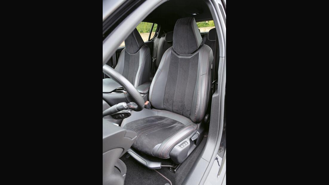 Peugeot 308 GT 308 GT THP 205, Fahrersitz
