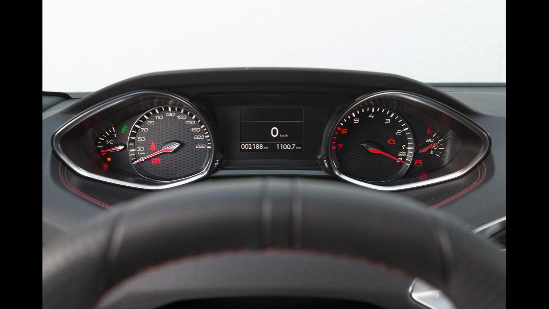 Peugeot 308 GT THP 205, Anzeiginstrumente