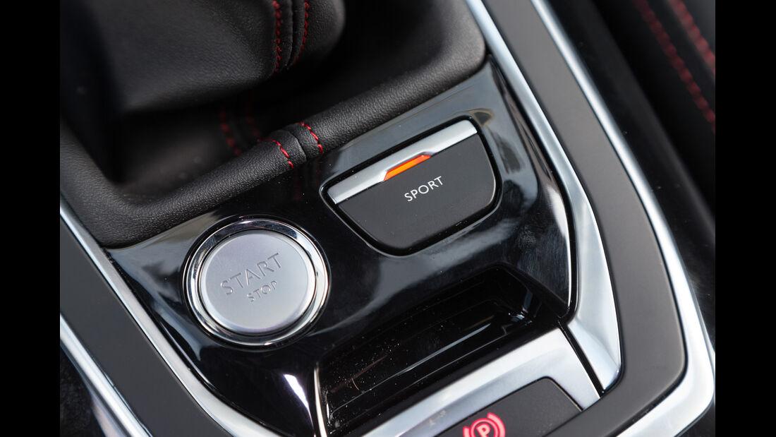 Peugeot 308 GT THP 205, Bedienelemente