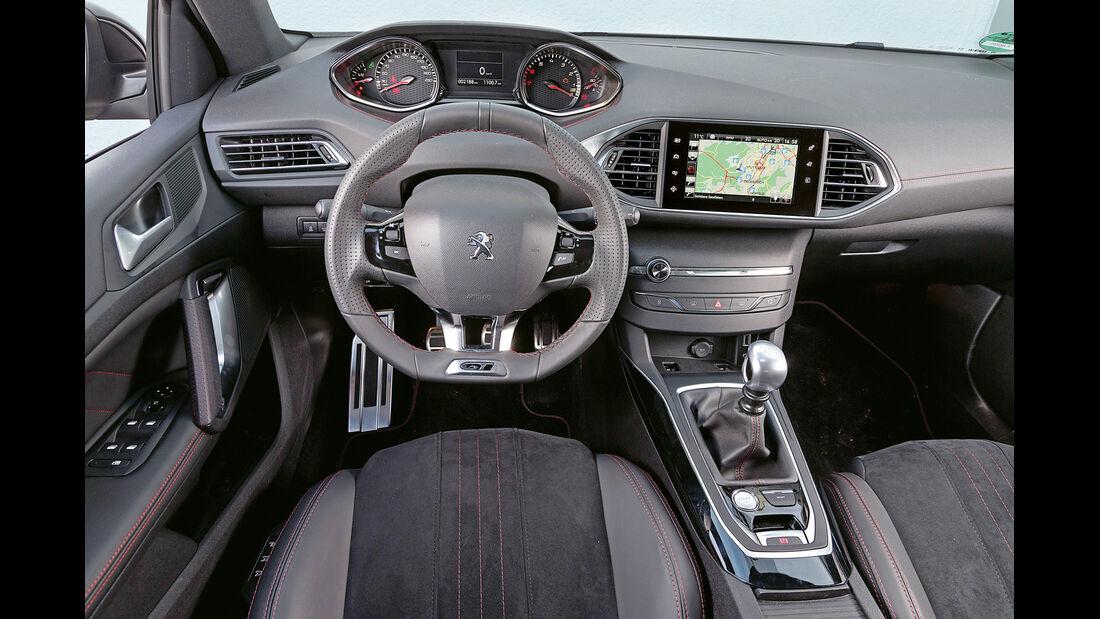 Peugeot 308 GT THP 205, Cockpit