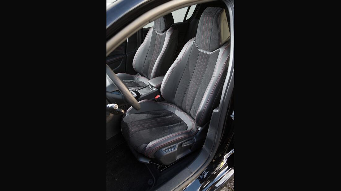 Peugeot 308 GT THP 205, Fahrersitz