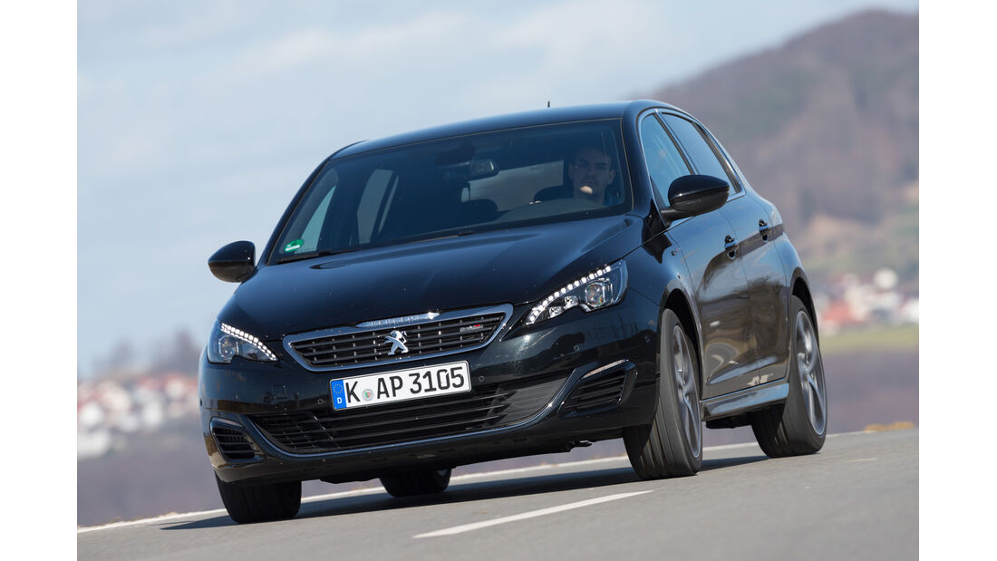 Peugeot 308 GT THP 205, Frontansicht