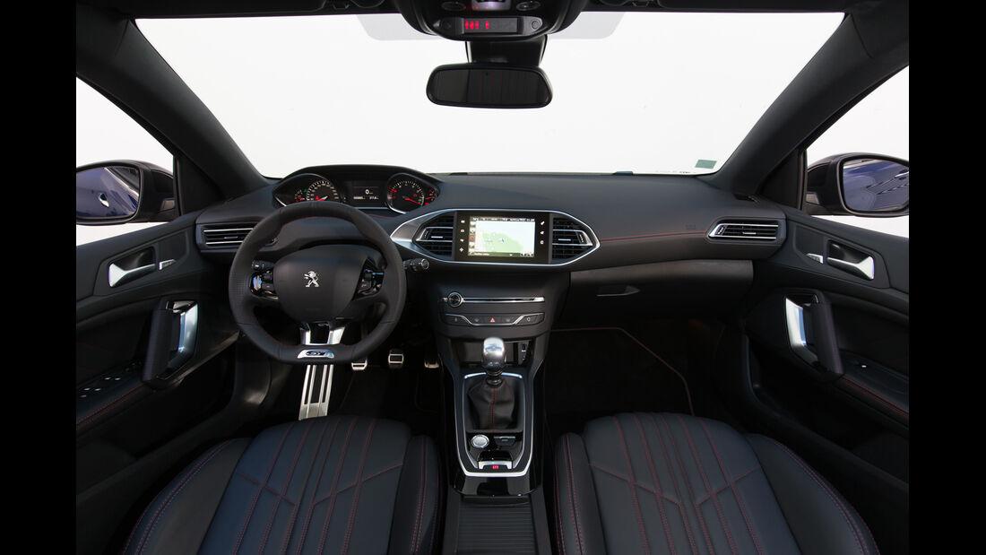 Peugeot 308 GT, ams Fahrbericht, Cockpit