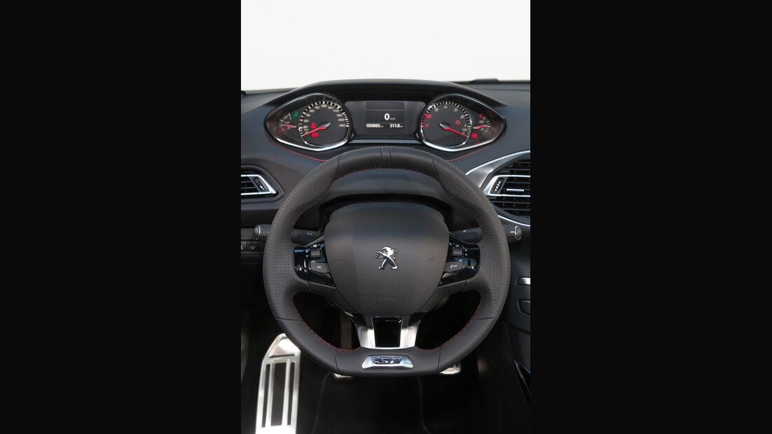 Peugeot 308 GT, ams Fahrbericht, Lenkrad