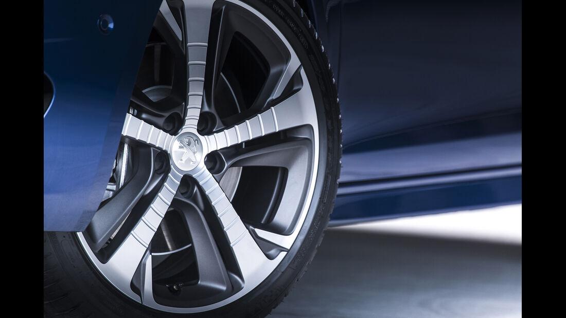 Peugeot 308 GT, ams Fahrbericht, Rad