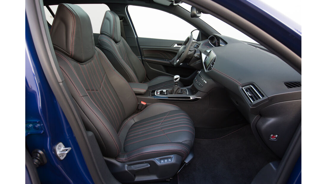 Peugeot 308 GT, ams Fahrbericht, Vordersitze