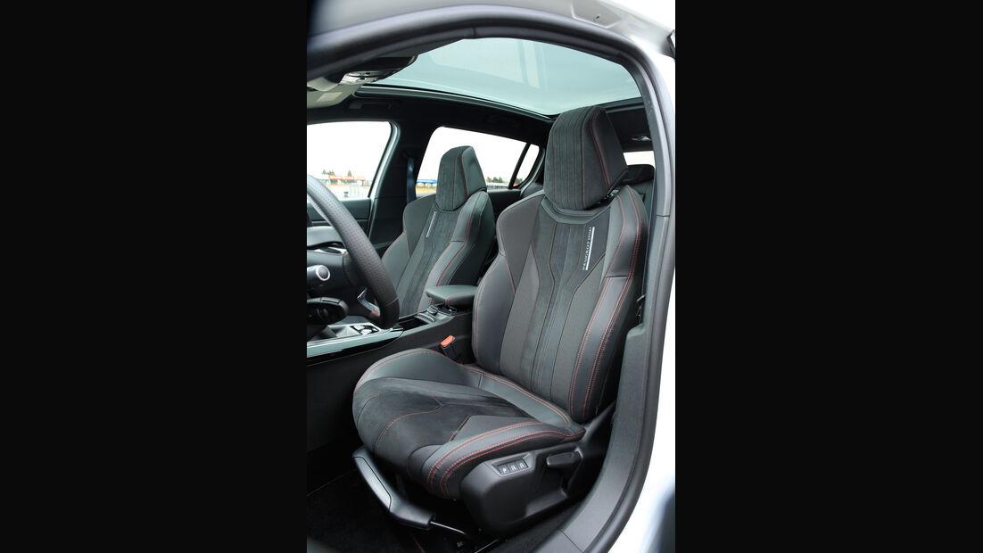 Peugeot 308 GTi, Fahrersitz