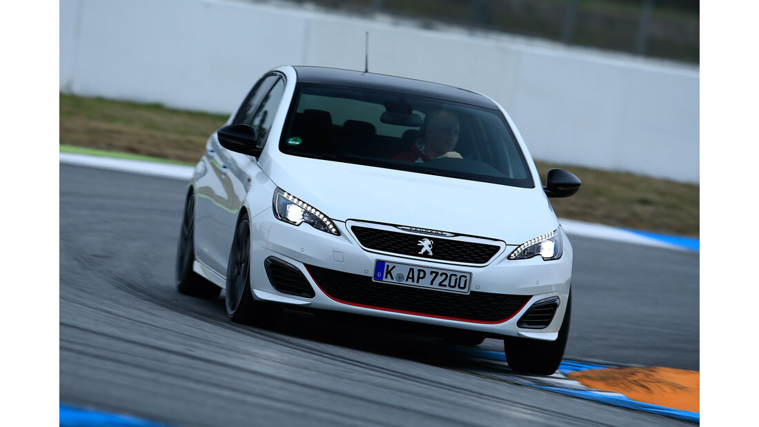 Peugeot 308 GTi, Frontansicht