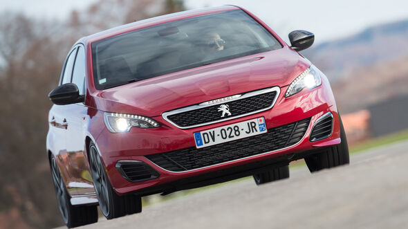 Peugeot 308 GTi THP 270, Frontansicht