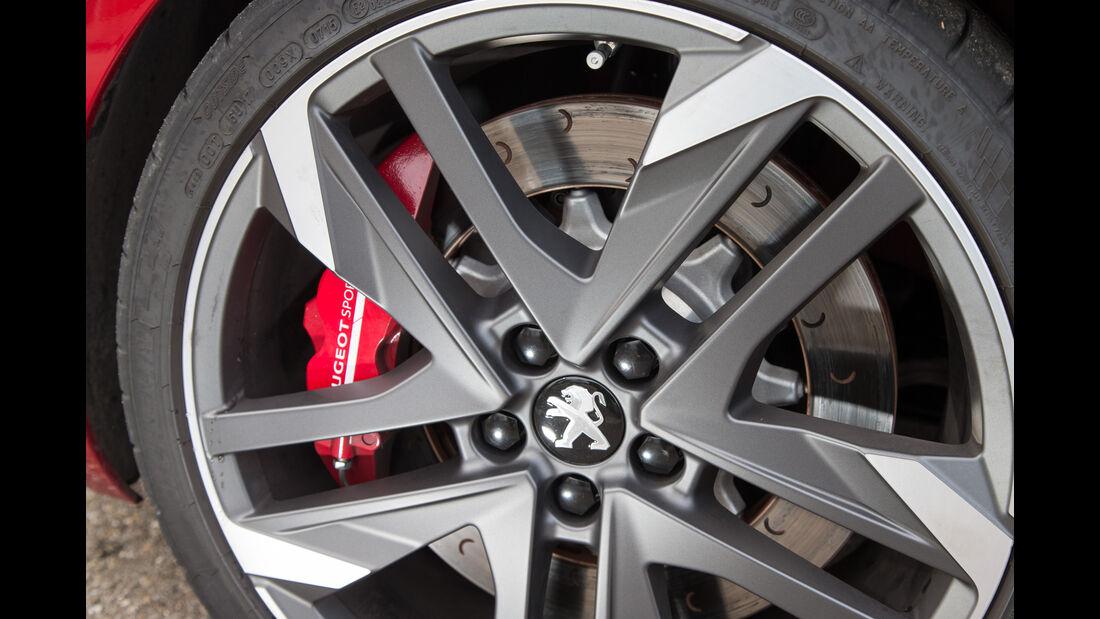 Peugeot 308 GTi THP 270, Rad, Felge