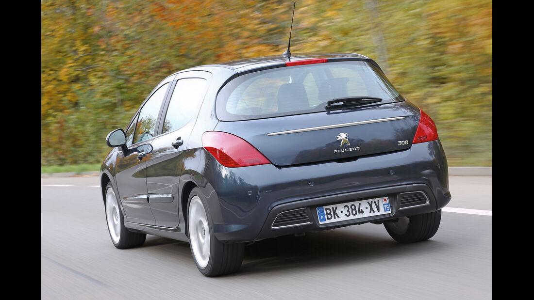 Peugeot 308 Hdi, Heckansicht